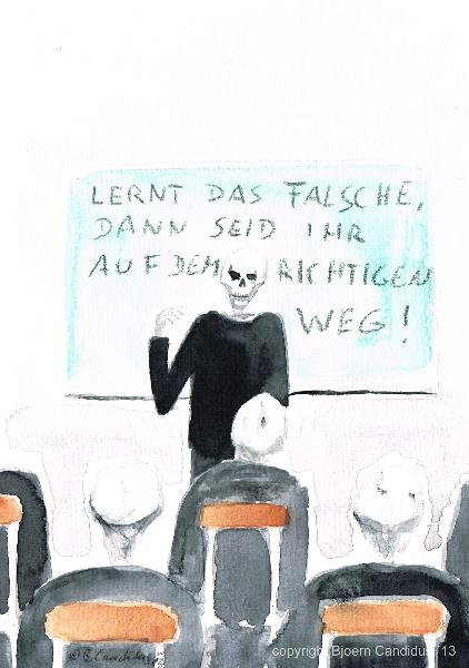 Bjoern Candidus - LERNT DAS FLASCHE, DANN SEID IHR AUF DEM RICHTIGEN WEG!