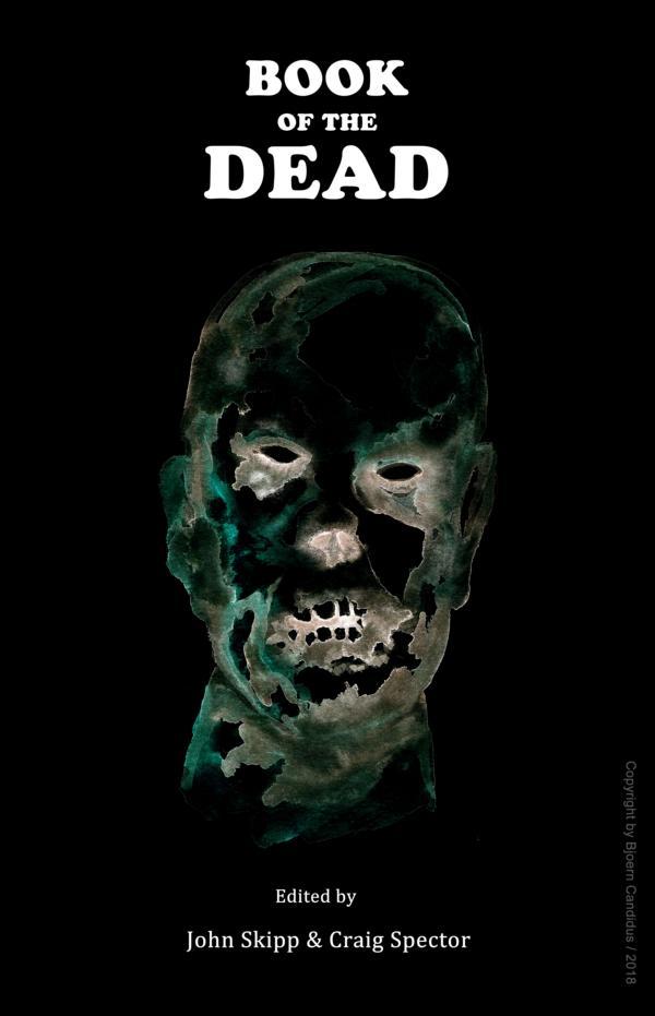 Bjoern Candidus - Buchcover-Entwurf für BOOK OF THE DEAD