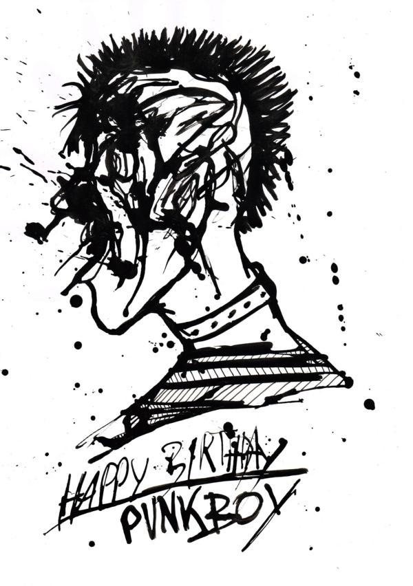 Bjoern Candidus - HAPPY BIRTHDAY, PUNKBOY