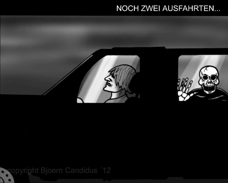 Bjoern Candidus - NOCH ZWEI AUSFAHRTEN...