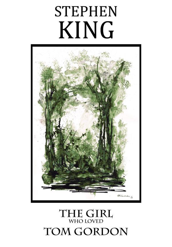 Cover-Entwurf für Stephen Kings Novelle THE GIRL WHO LOVED TOM GORDON (1999) / 2020