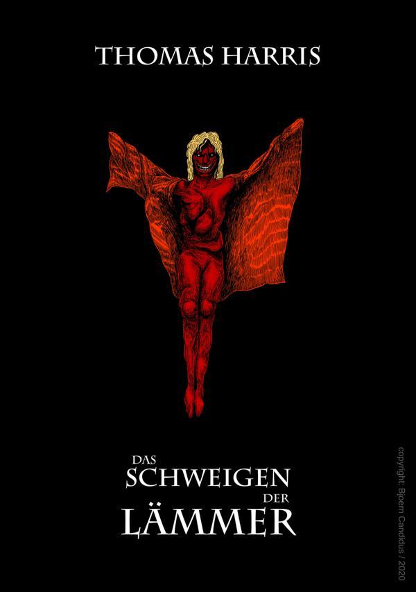 Bjoern Candidus Cover-Entwurf für Thomas Harris Roman DAS SCHWEIGEN DER LÄMMER (1988)  2020