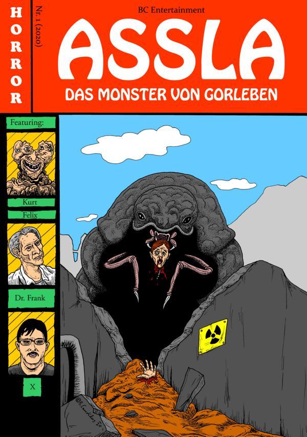 Bjoern Candidus  ASSLA - DAS MONSTER VON GORLEBEN / 2020