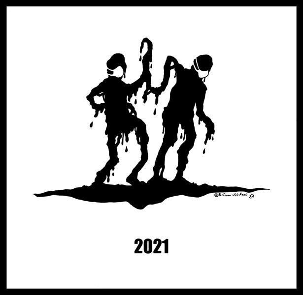 Bjoern Candidus - 2021 / Zeichnung / 2021
